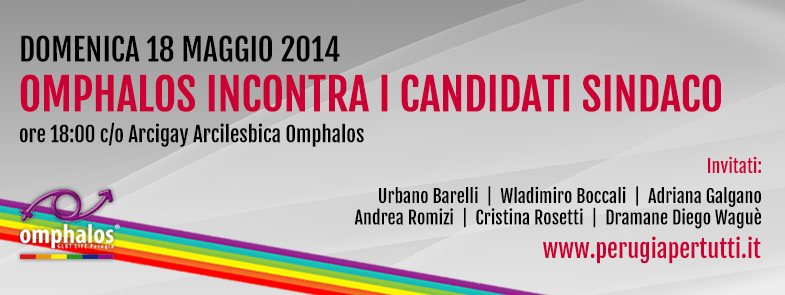 omphalos incontra candidati sindaco 2014