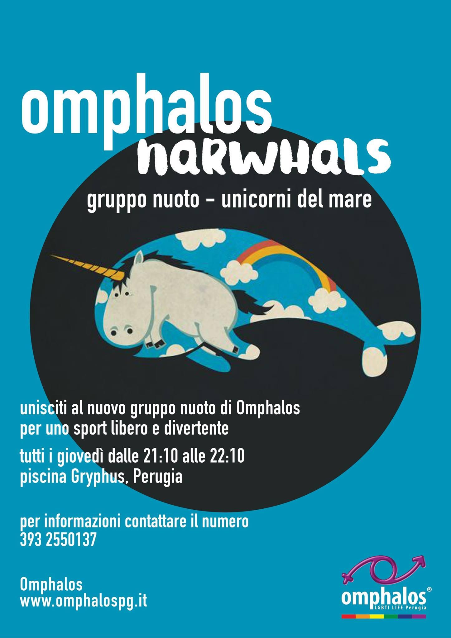 omphalos nuoto