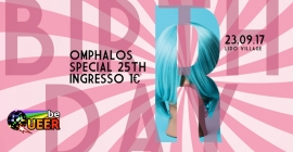 Be Queer – Omphalos 25th Birthday