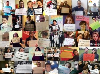 È #TempoDiLegge contro l'omotransfobia in Umbria!