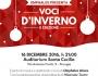 Venerdì 16 Dicembre | Voci d'inverno. Il concerto di Omphalos Voices