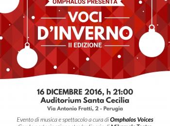 Venerdì 16 Dicembre   Voci d'inverno. Il concerto di Omphalos Voices